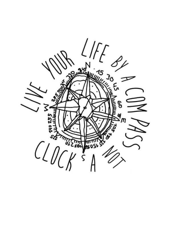 Motiv Kompass