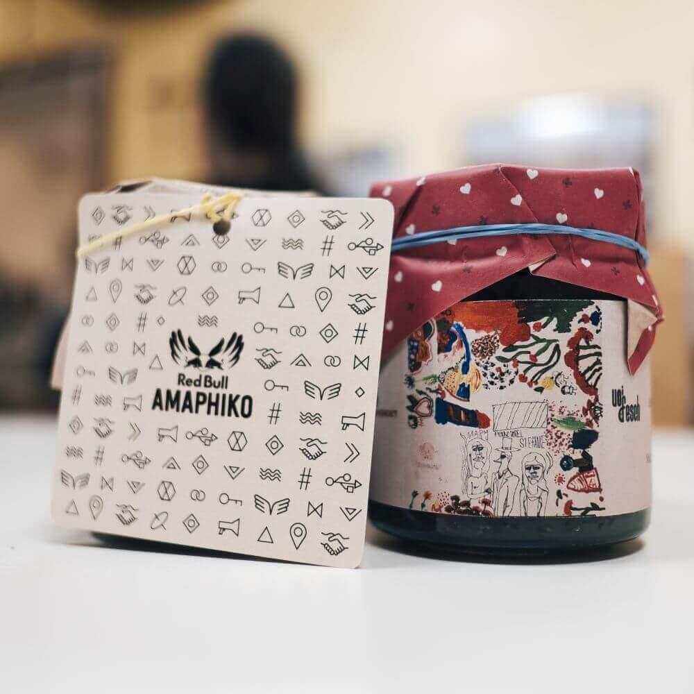 Red Bull Amaphiko Etikette