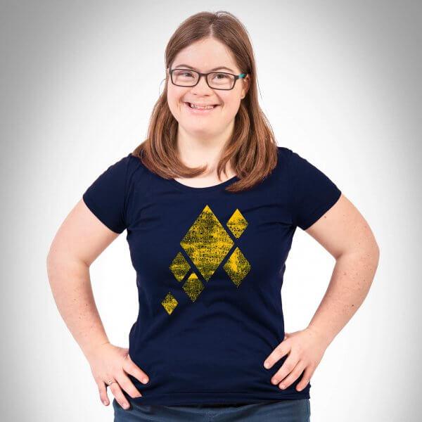 Musik in mir Damen T-Shirt navy