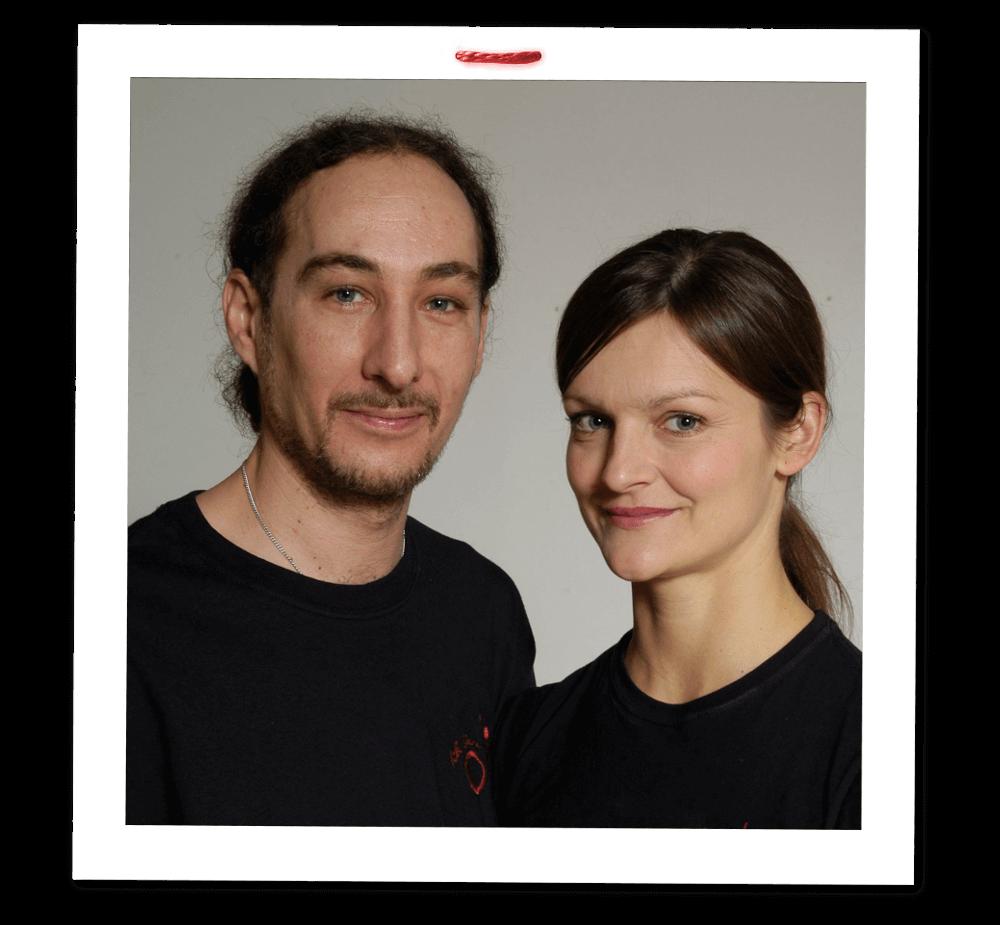 Hana Zanin-Pauknerová & Attila Zanin