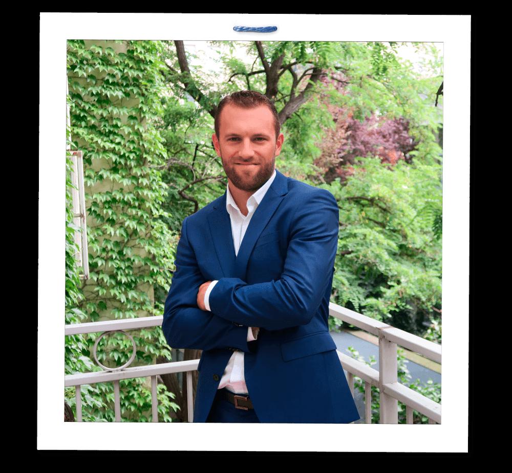 Portrait von Michael Feichtner, Geschäftsführer von Siteimprove Österreich