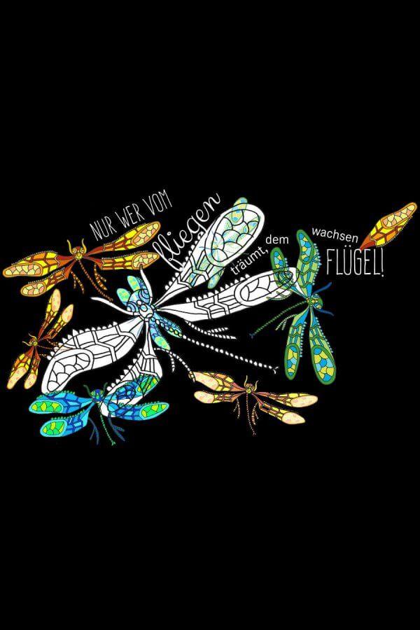 Großansicht Motiv Libellen