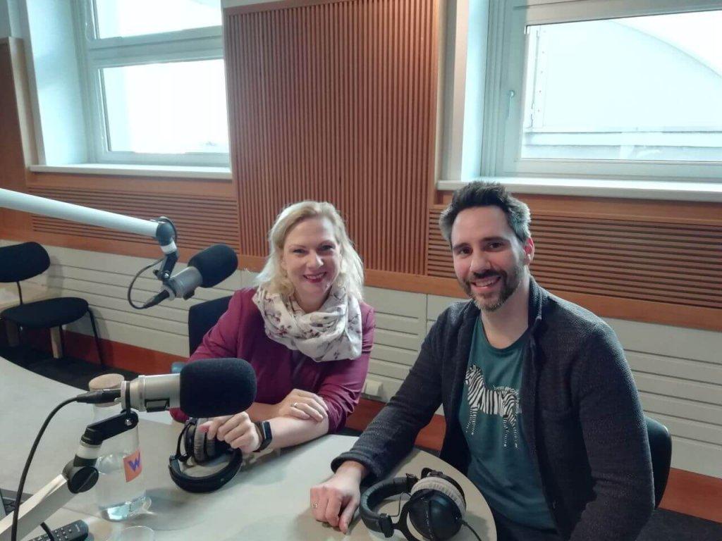 Helmuth Stöber im Gespräch mit Ingrid Rehusch
