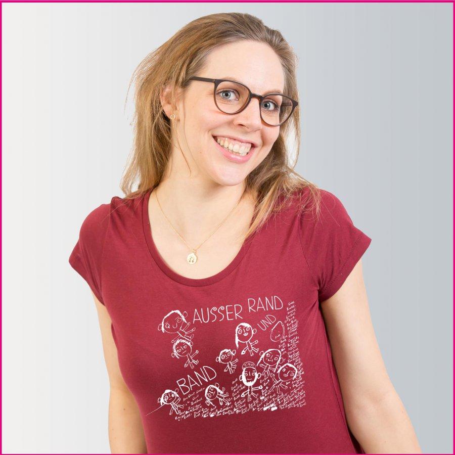 Produktfoto Frauen T-Shirt Rasselbande von Florin Asei
