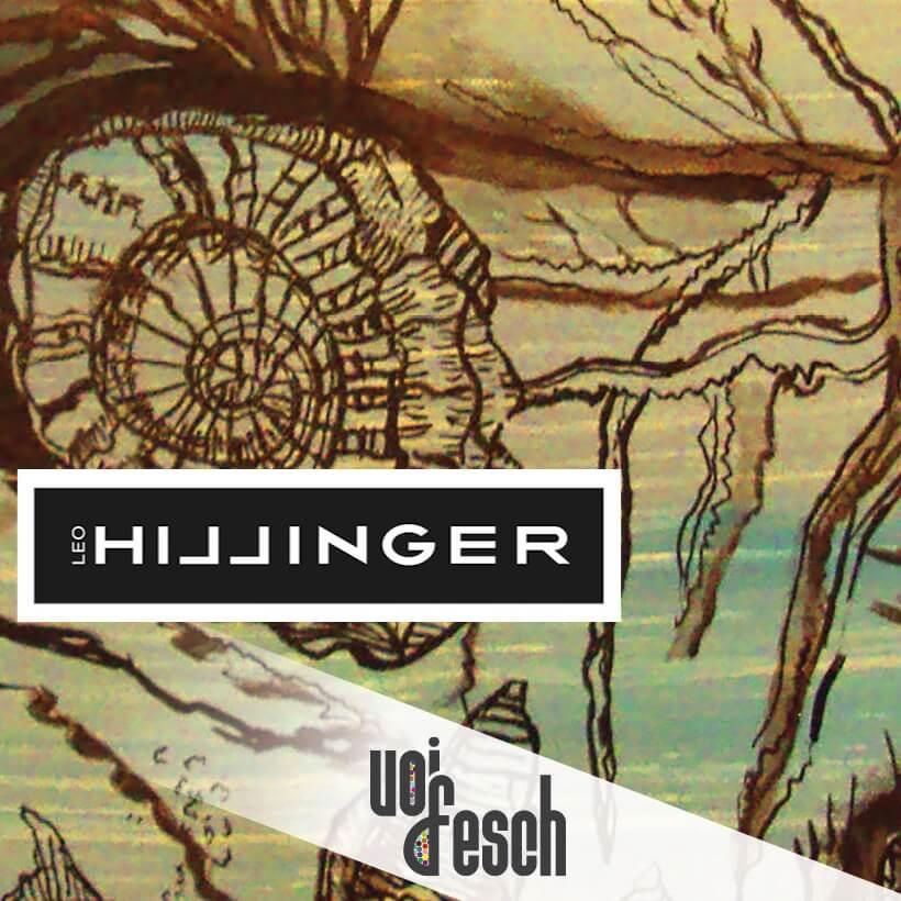Weinetikette für Hillinger