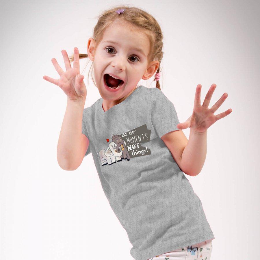 Elefantenliebe Unisex Kinder T-Shirt