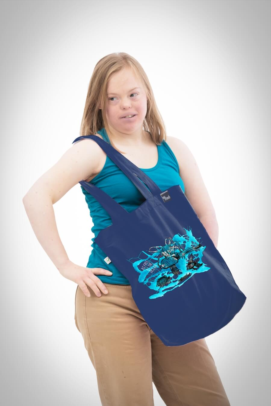 Shopping Bag Unterwasserwelt