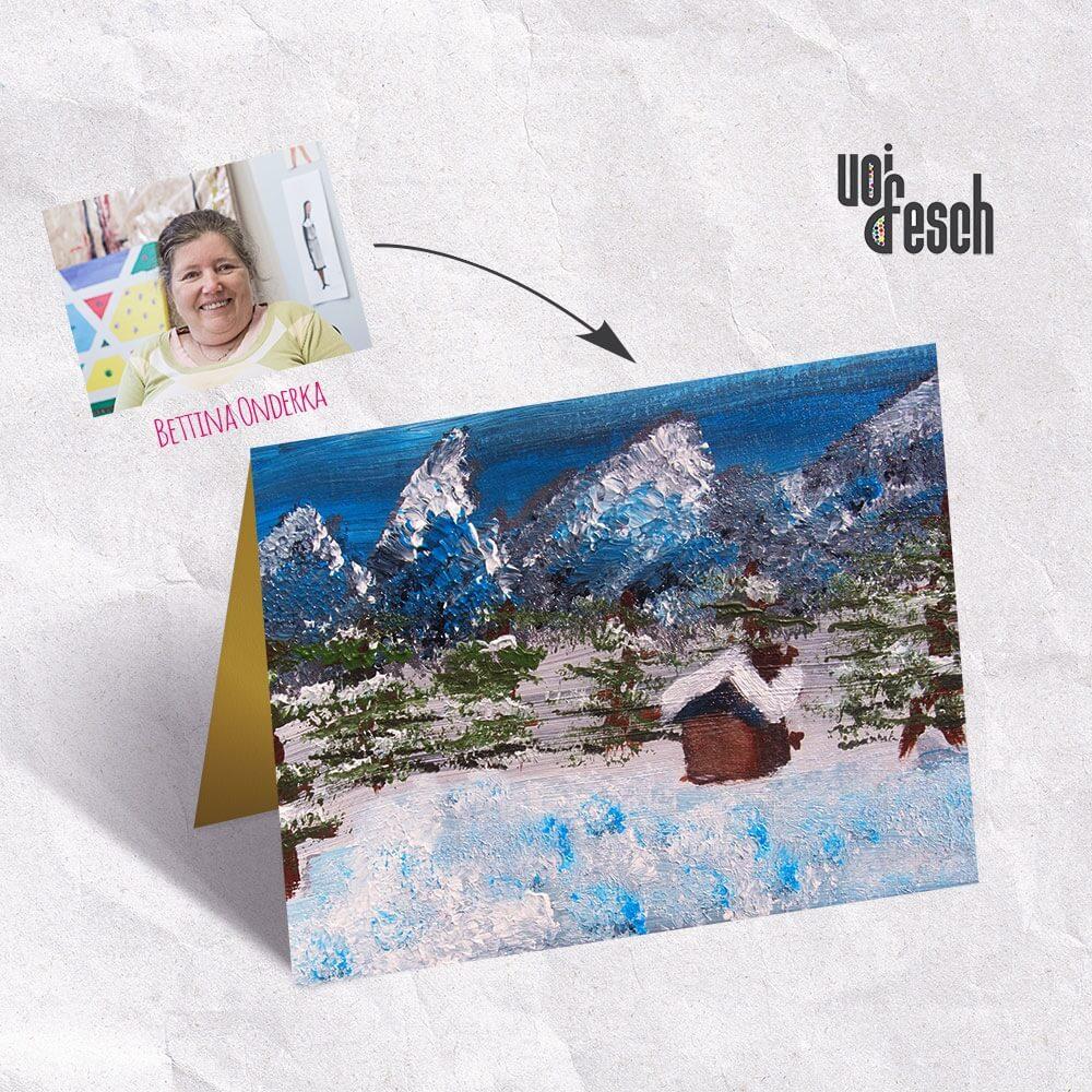 Weihnachtskarte_Winterlandschaft