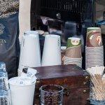 Es gab Kaffee von Vilveta.