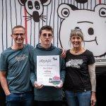Die stolze Familie von Künstler Albert Masser