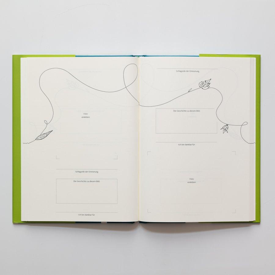 """Innenansicht Buch """"Meine Quantensprünge"""""""