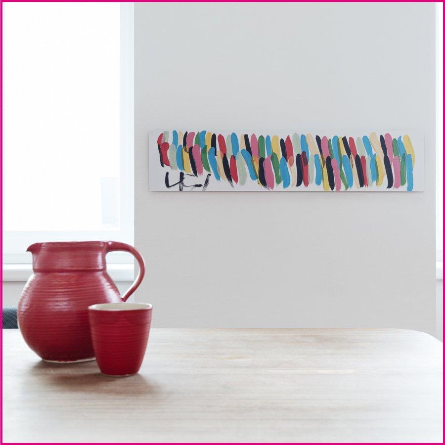 Produktfoto Aludruck mit dem Motiv Rot von Elisabeth Hinterlechner