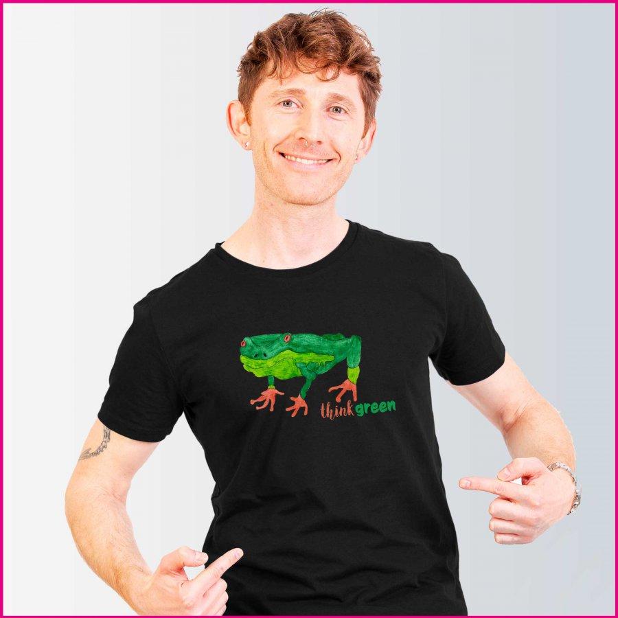 Produktfoto Männer T-Shirt mit dem Motiv Thing green von Albert Masser