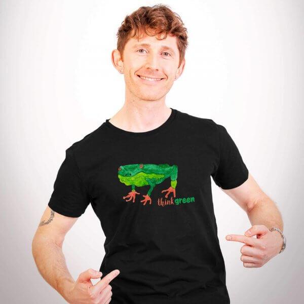 Produktfoto Herrenshirt Think Green