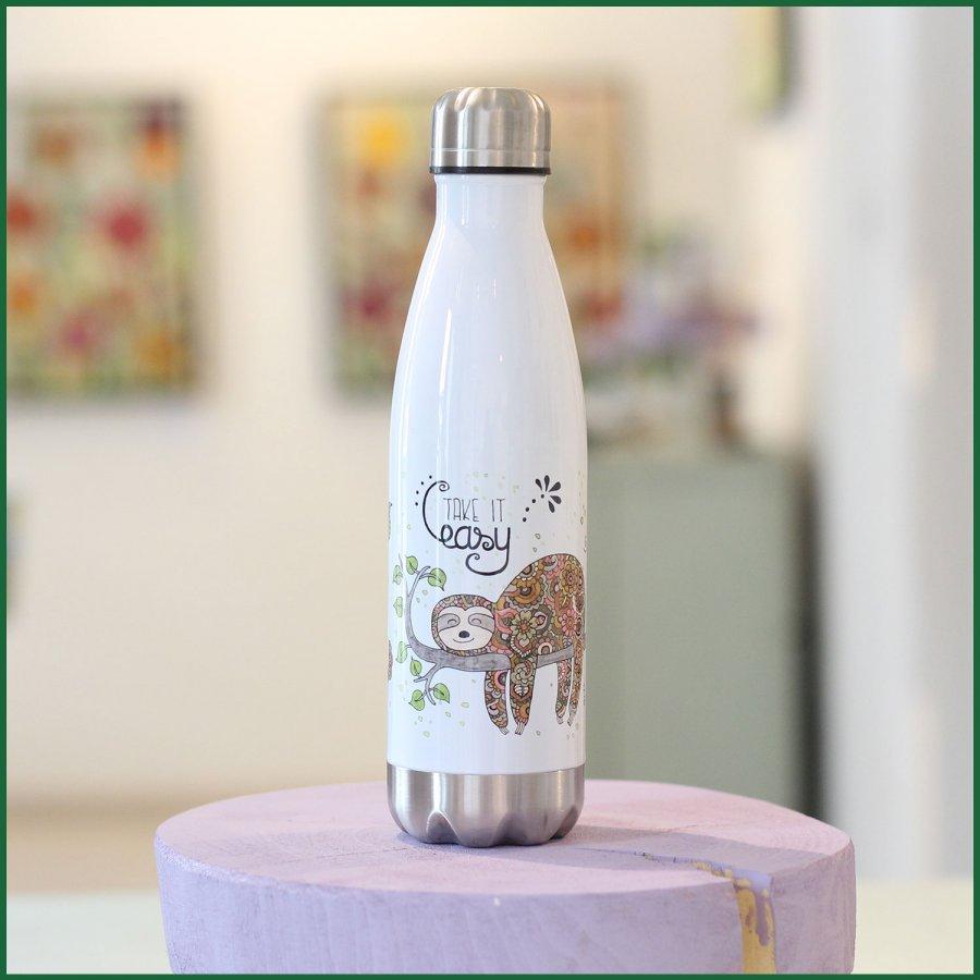 RollinArt Flasche mit dem Motiv Faultier