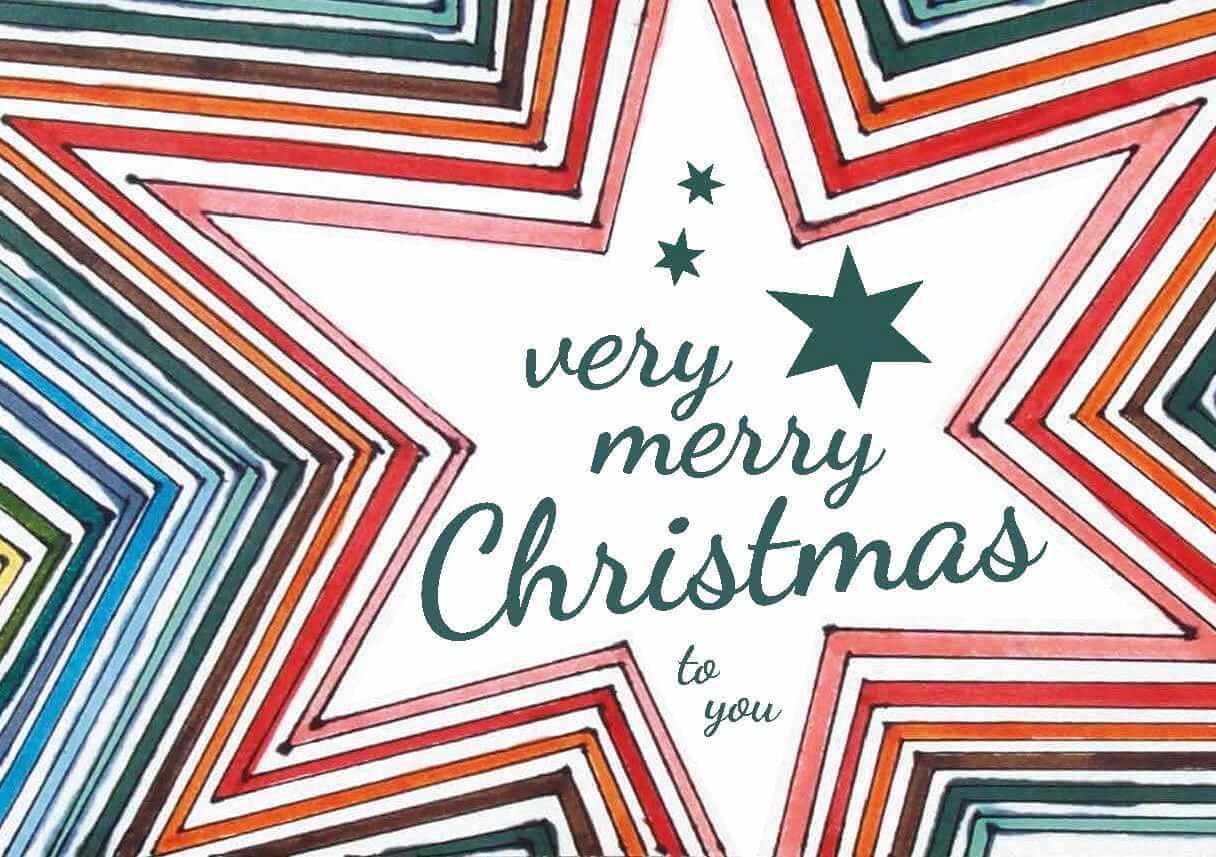 Weihnachtsstern von Bettina Onderka