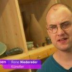 VOI fesch Künstler Rene Niedereder in Heute Leben ©ORF