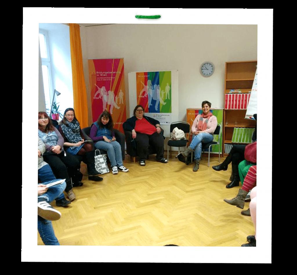 Vorschaubild VOI fesch zu Besuch beim Leicht-Lesen-Treffen